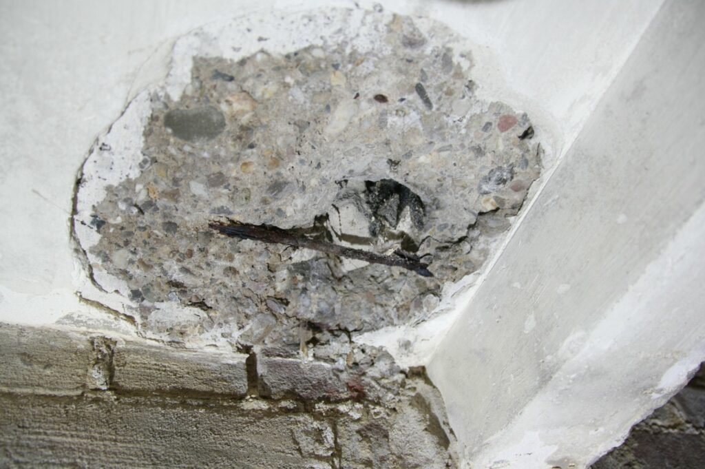 Vochtprobleem betonrot terras