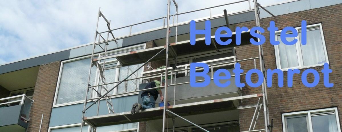 Voorpagina headimage betonrot herstellen